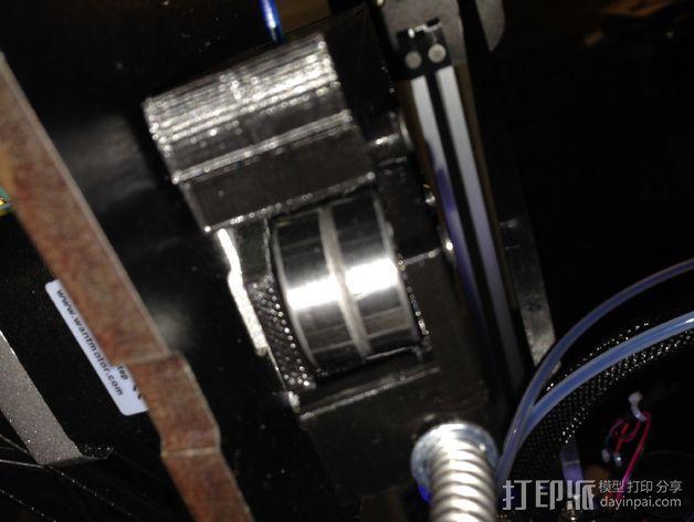 挤出机固定夹 3D模型  图3