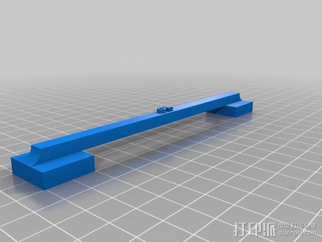 100毫米的桥梁 打印测试 3D模型  图2