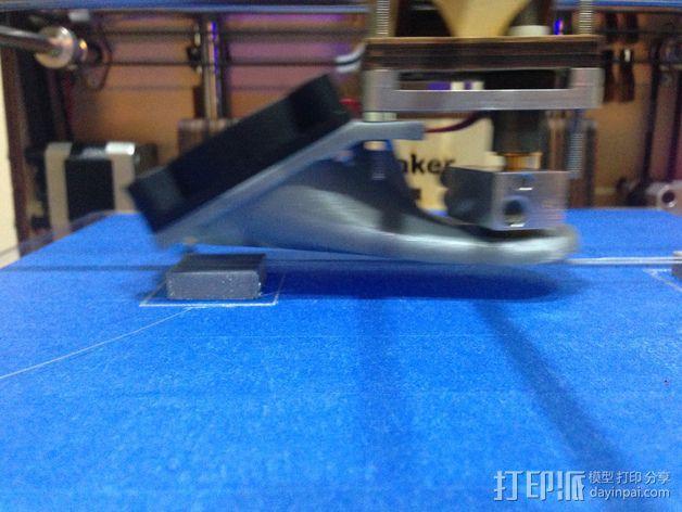 100毫米的桥梁 打印测试 3D模型  图3