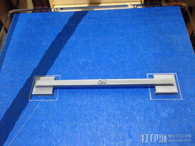 100毫米的桥梁 打印测试 3D模型  图5