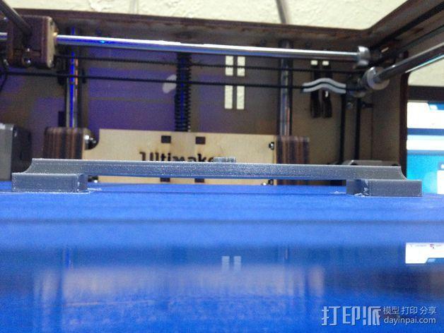 100毫米的桥梁 打印测试 3D模型  图7