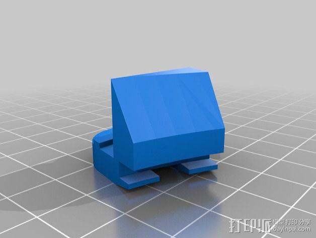 打印床支撑器 3D模型  图2