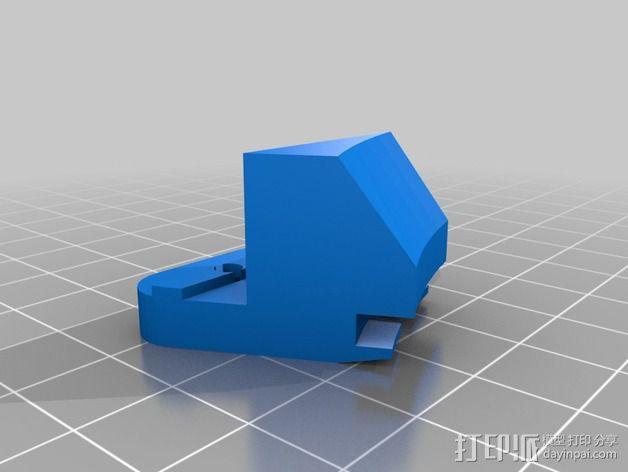 打印床支撑器 3D模型  图3