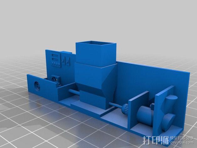 DIY材料挤出机 3D模型  图2