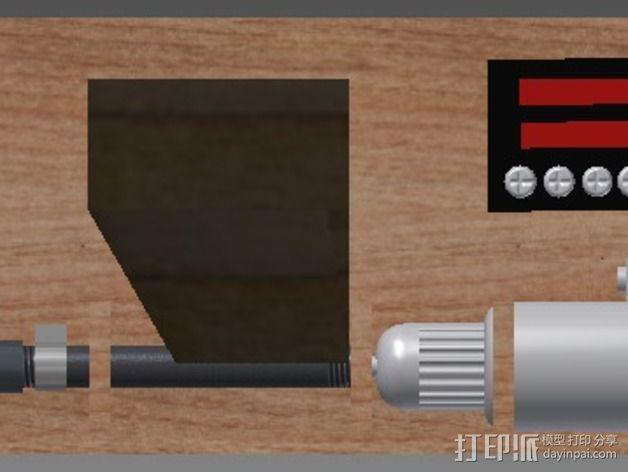 DIY材料挤出机 3D模型  图5