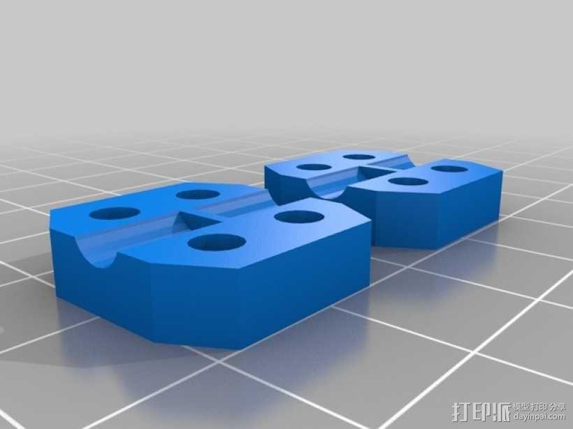 马达耦合器 3D模型  图1