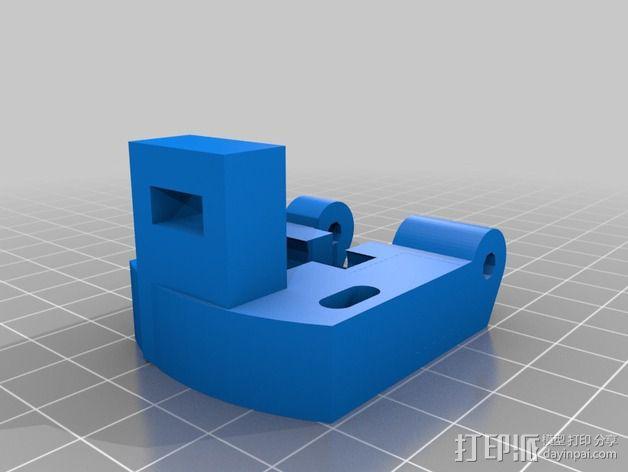 通用式浆糊挤出机 3D模型  图4