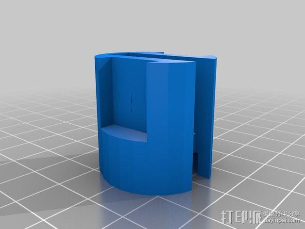 通用式浆糊挤出机 3D模型  图7