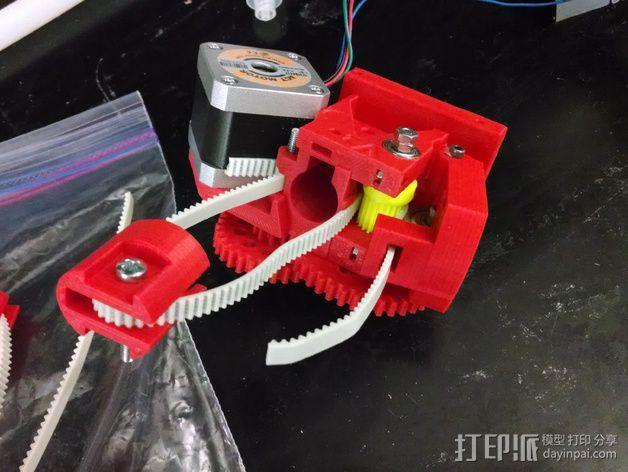 通用式浆糊挤出机 3D模型  图10