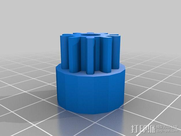 通用式浆糊挤出机 3D模型  图8