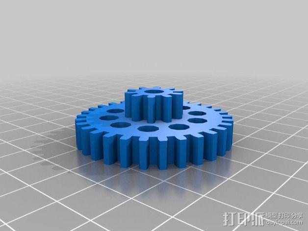 通用式浆糊挤出机 3D模型  图9