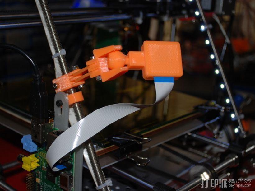 Raspberry Pi树莓派相机支架 3D模型  图1