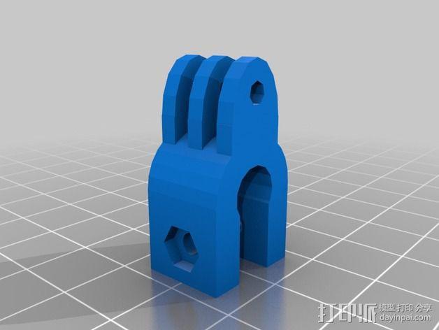 Raspberry Pi树莓派相机支架 3D模型  图3