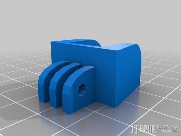 Raspberry Pi树莓派相机支架 3D模型  图4