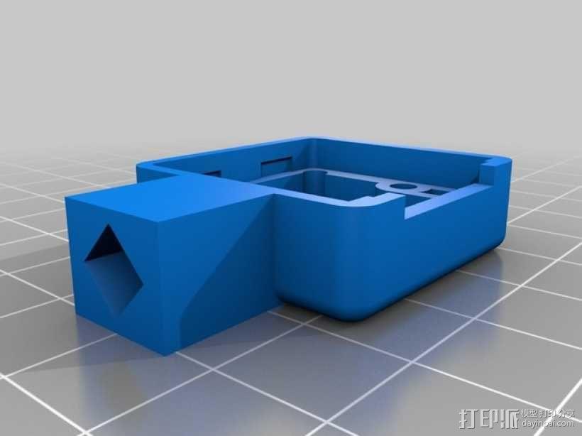 Raspberry Pi树莓派相机支架 3D模型  图9