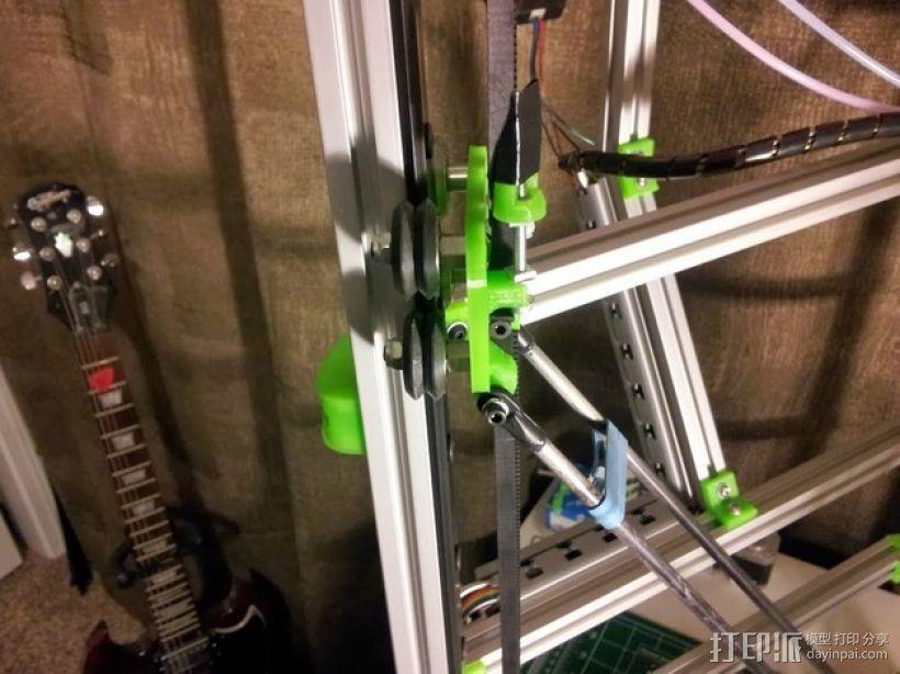 Delta 式3D打印机 3D模型  图3