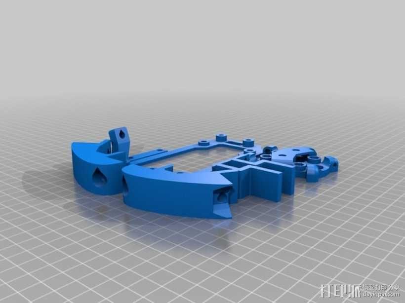 Delta 式3D打印机 3D模型  图8