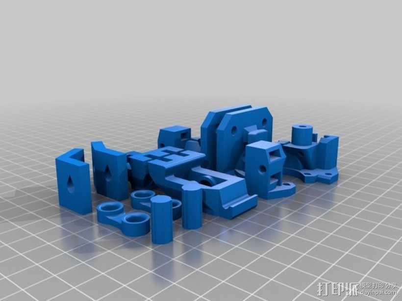 Delta 式3D打印机 3D模型  图7