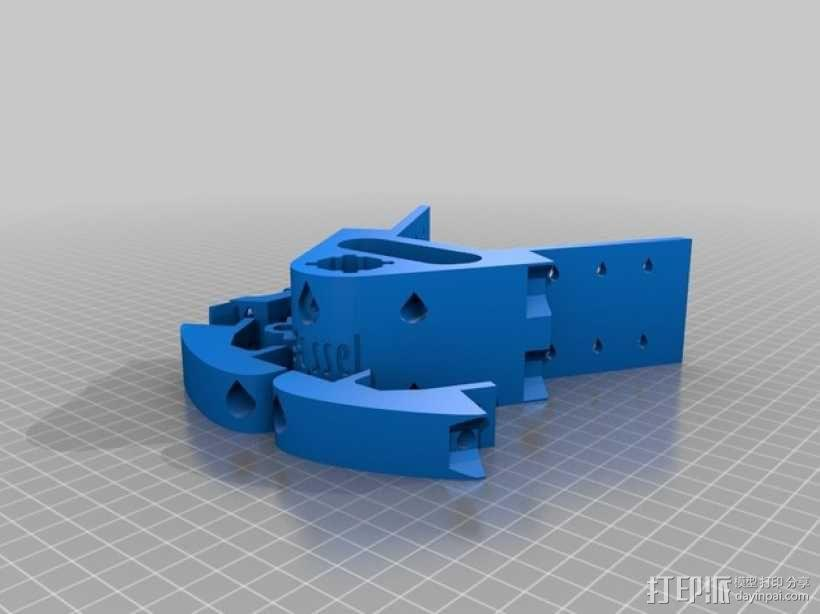Delta 式3D打印机 3D模型  图9