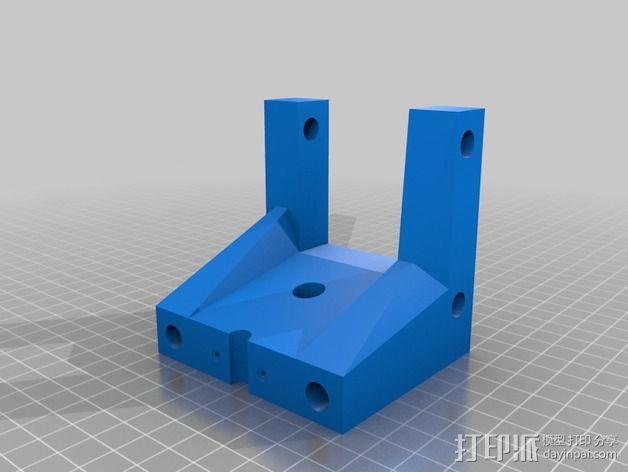 自制3D打印机 3D模型  图14