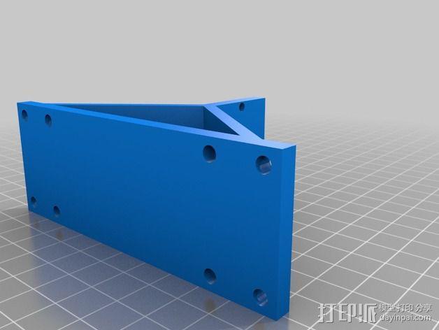 自制3D打印机 3D模型  图27