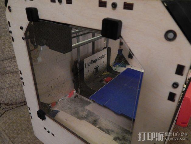 玻璃夹 3D模型  图1