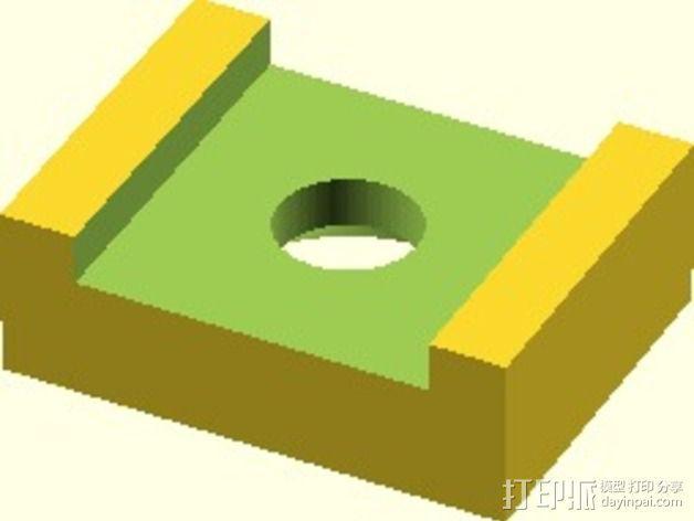Velleman K8200打印机替换件 3D模型  图2