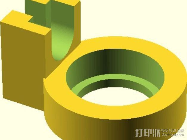Velleman K8200打印机替换件 3D模型  图4