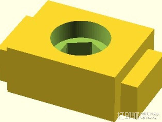 Velleman K8200打印机替换件 3D模型  图5