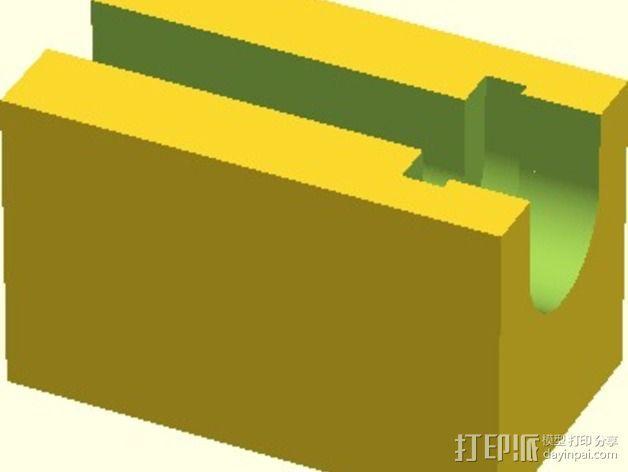 Velleman K8200打印机替换件 3D模型  图9