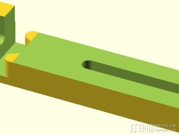 Velleman K8200打印机替换件 3D模型  图8