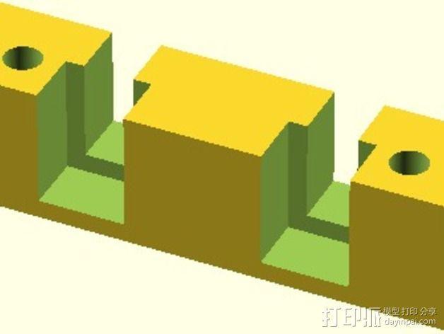Velleman K8200打印机替换件 3D模型  图10