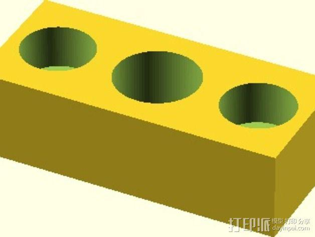 Velleman K8200打印机替换件 3D模型  图11