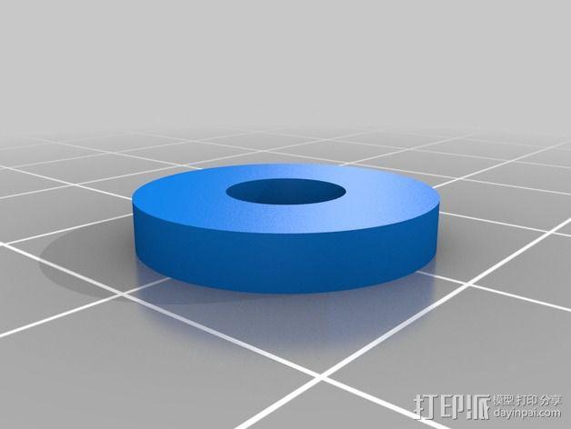 Vellman K8200打印机线轴支架 3D模型  图10