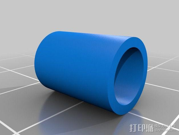 Vellman K8200打印机线轴支架 3D模型  图13