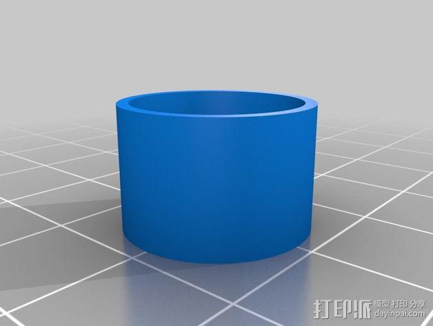 Vellman K8200打印机线轴支架 3D模型  图14