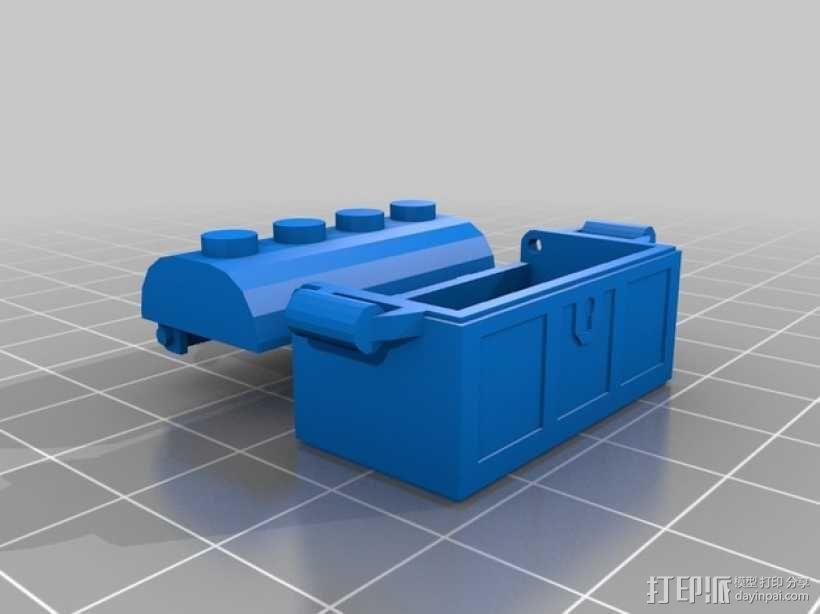 乐高小盒子 3D模型  图1