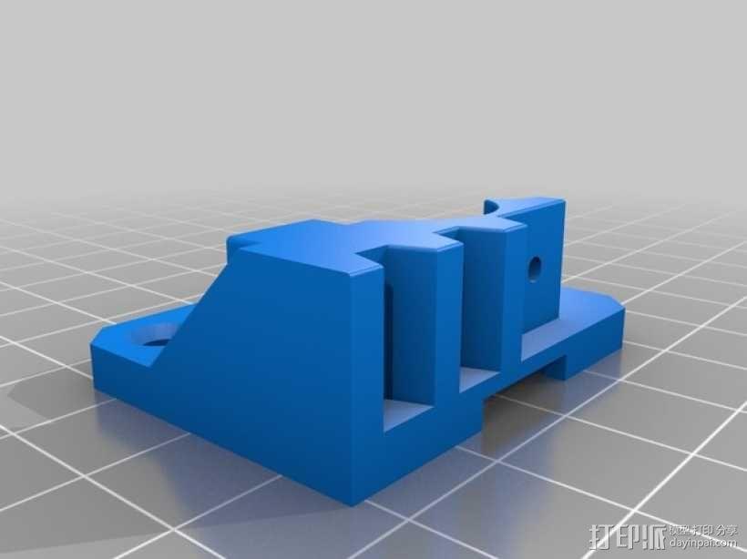 弹性材料挤出机 3D模型  图3