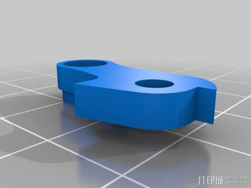 弹性材料挤出机 3D模型  图2