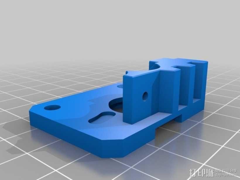弹性材料挤出机 3D模型  图6