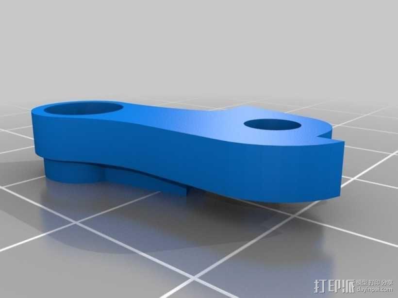 弹性材料挤出机 3D模型  图5