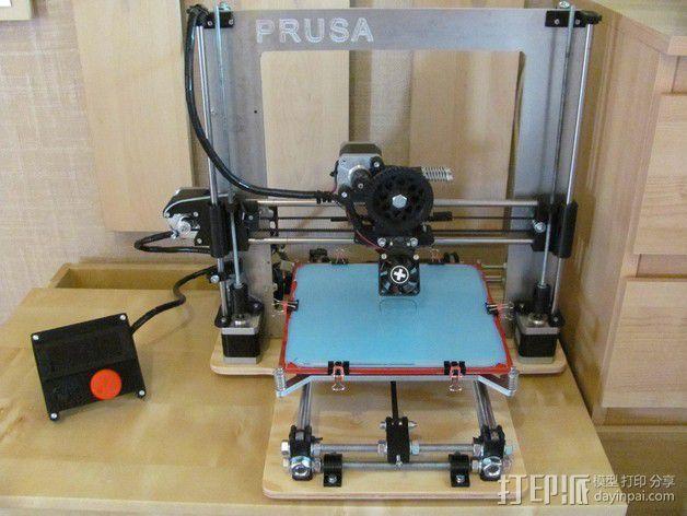 打印床安装支架 3D模型  图1