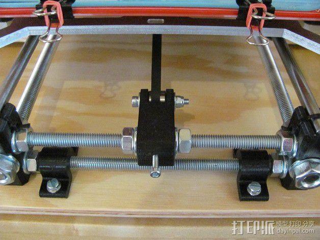 打印床安装支架 3D模型  图2