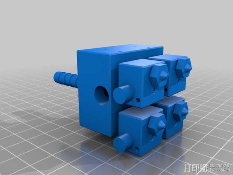 E3D Kraken挤出机 3D模型  图2