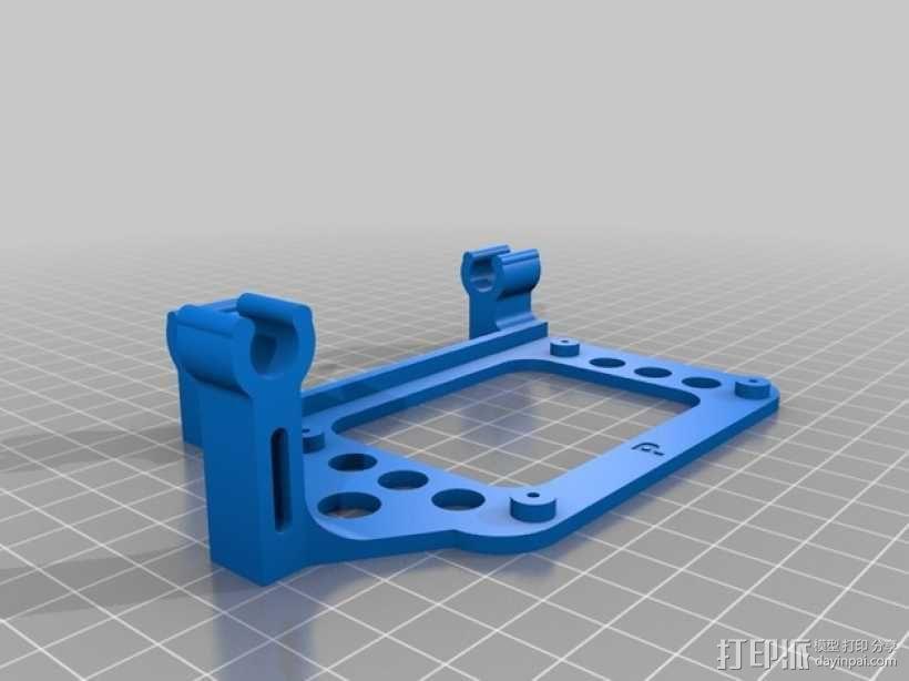 Ramps (2)电路板支撑架 3D模型  图2