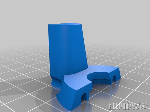 打印机效应器 3D模型  图3