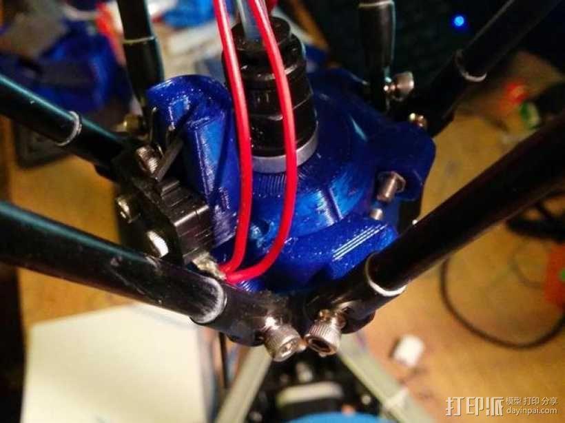 打印机效应器 3D模型  图6