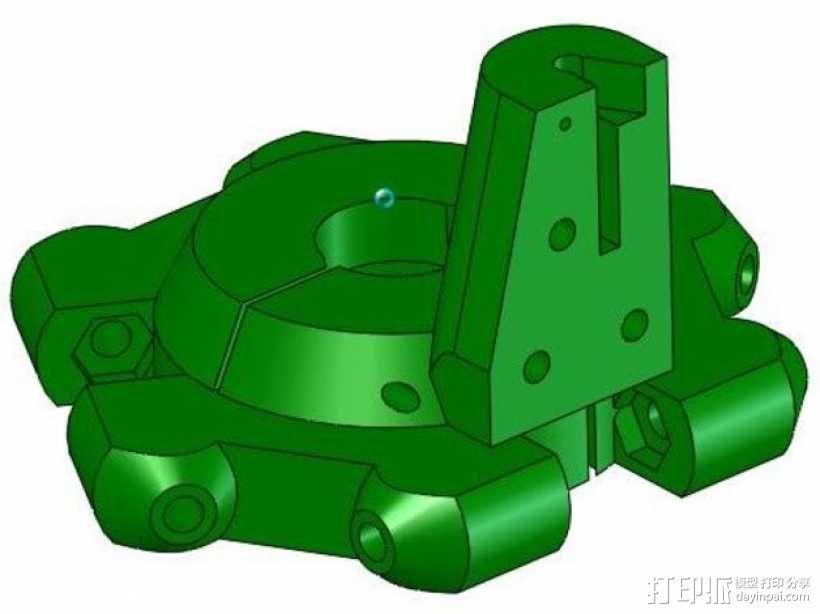 打印机效应器 3D模型  图7