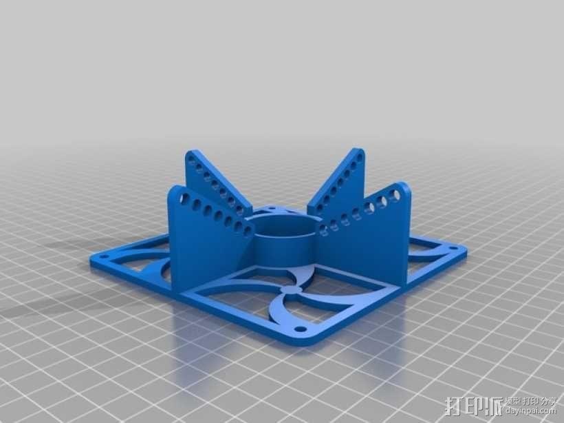 特斯拉线圈  3D模型  图1
