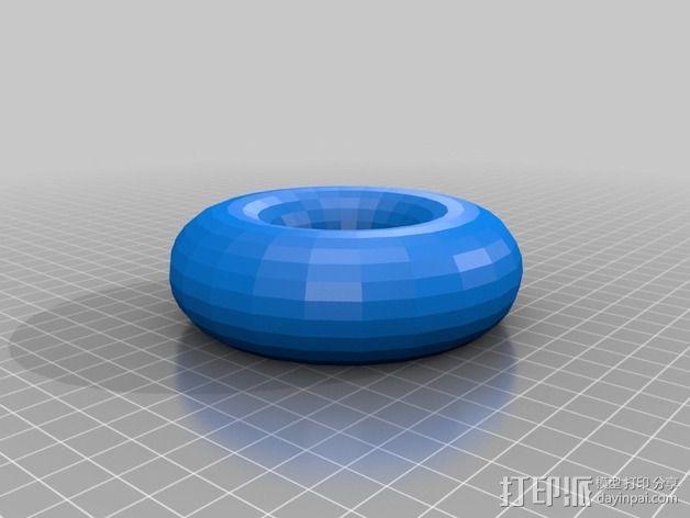 特斯拉线圈  3D模型  图2